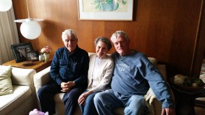 עם מוריס וברנדה