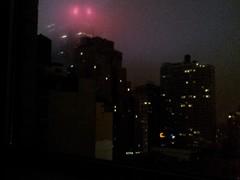 New Yorker Night- dim view