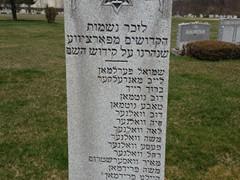 Parcev memorial NJ - Shmuel Perelman